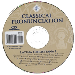 Latina Christiana Book I - CD (Classical Pronunciation)
