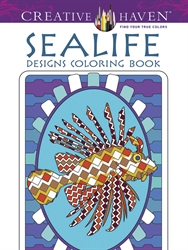 Creative Haven Sealife - Coloring Book