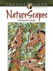 Creative Haven NatureScapes - Coloring Book