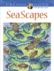 Creative Haven SeaScapes - Coloring Book