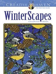 Creative Haven WinterScapes - Coloring Book
