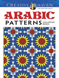 Creative Haven Arabic Patterns - Coloring Book