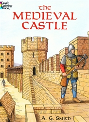 Medieval Castle - Coloring Book