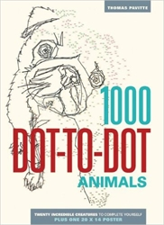 1000 Dot-to-Dot: Animals