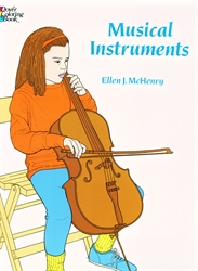 Musical Instruments - Coloring Book