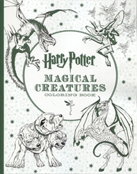 Harry Potter Magical Creatures - Coloring Book