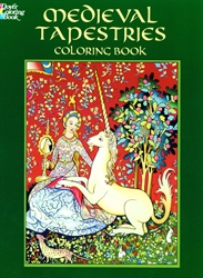 Medieval Tapestries - Coloring Book