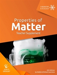 Properties of Matter - Teacher Supplement