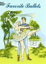 Favorite Ballets - Coloring Book