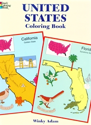 United States - Coloring Book