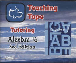 Teaching Tape Tutoring Math Algebra 1/2