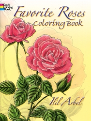 Favorite Roses - Coloring Book