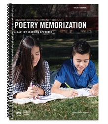 Linguistic Development Through Poetry Memorization - Teacher Manual
