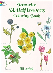 Favorite Wildflowers - Coloring Book