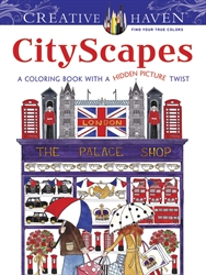 Creative Haven CityScapes - Coloring Book