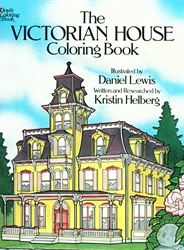 Victorian House - Coloring Book