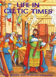 Life in Celtic Times - Coloring Book