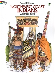 Northwest Coast Indians - Coloring Book