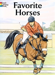 Favorite Horses - Coloring Book