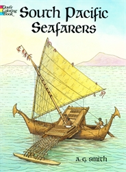 South Pacific Seafarers - Coloring Book
