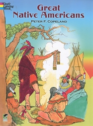 Great Native Americans - Coloring Book