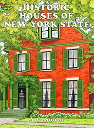 Historic Houses of New York State - Coloring Book