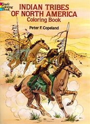 Indian Tribes of North America - Coloring Book