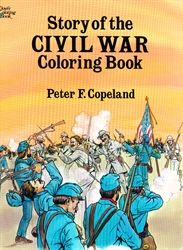 Story of the Civil War - Coloring Book