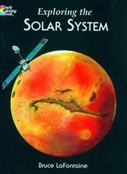 Exploring the Solar System - Coloring Book