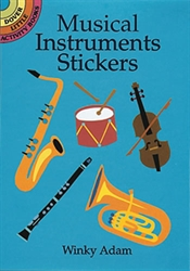 Musical Instruments - Stickers