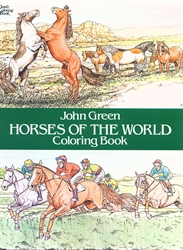 Horses of the World - Coloring Book