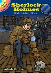 Sherlock Holmes - Sticker Activity Book