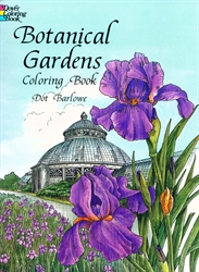 Botanical Gardens - Coloring Book