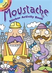 Moustache - Sicker Activity Book