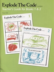 Explode the Code 1 & 2 - Teacher's Guide