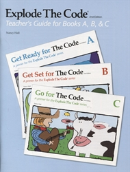 Explode the Code A, B, C - Teacher's Guide