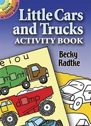 Little Cars and Trucks - Sticker Activity Book