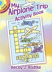 My Airplane Trip - Activity Book