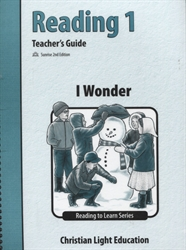 I Wonder - Teacher's Guide (with answers)