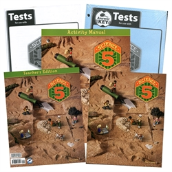 BJU Science 5 - Home School Kit