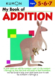 My Book of Addition: Ages 5-6-7