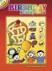 Birthday - Activity Book