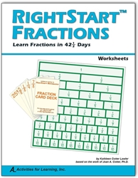 RightStart Mathematics Fractions - Worksheets