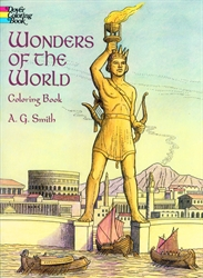 Wonders of the World - Coloring Book
