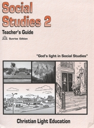 Christian Light Social Studies -  200 Teacher's Guide (with answers)