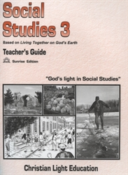 Christian Light Social Studies -  300 Teacher's Guide (with answers)