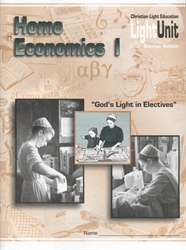 Home Economics 1 - LightUnit 103