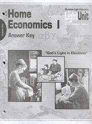 Home Economics 1 - LightUnit 106-110 Answer Key