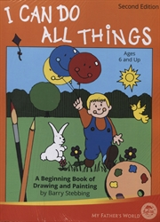 I Can Do All Things - Book and Paint & Marker Cards Set