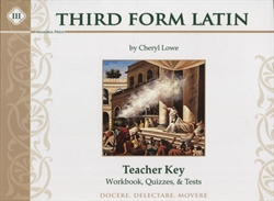 Third Form Latin - Workbook & Test Key